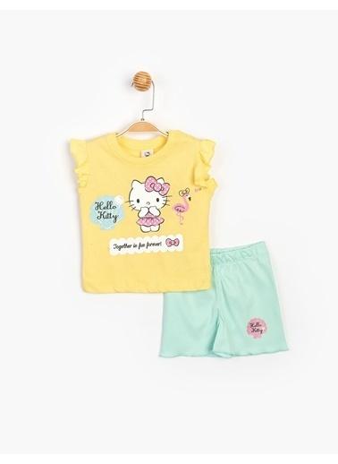 Hello Kitty 2 li Takım Sarı